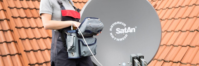 SAT Anlagen Einbau von Elektro Lorch