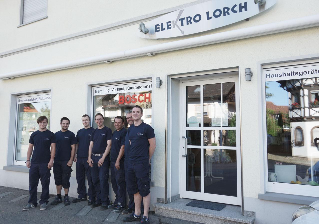 Elektro Lorch Ladengeschäft in Friedrichshafen-Ailingen Elektriker